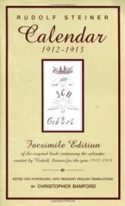 Calendar 1912 - 1913